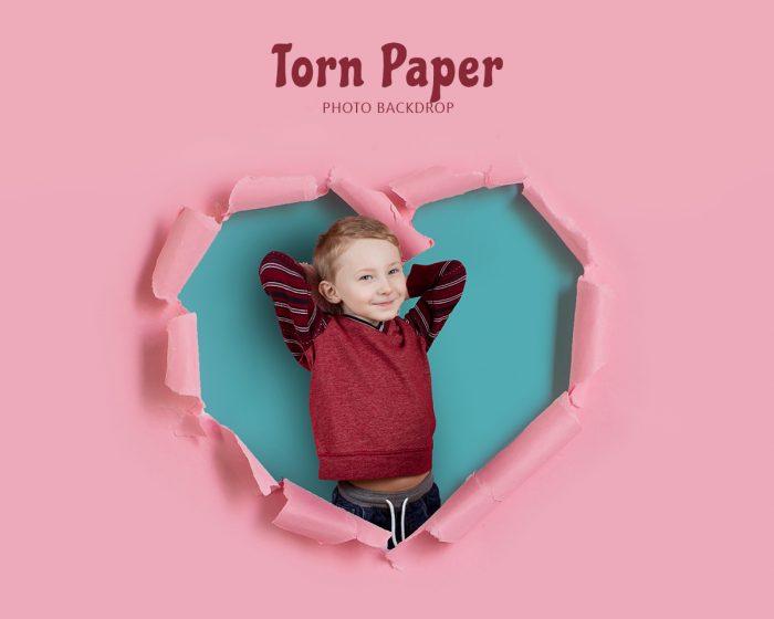 Torn Paper Backdrop