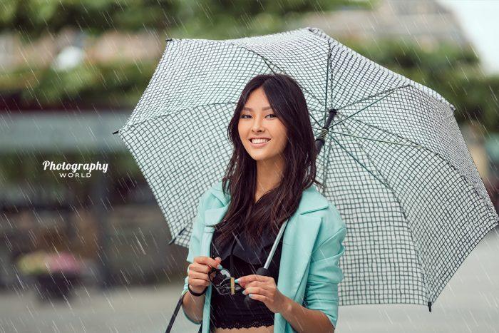 Falling Rain Overlay