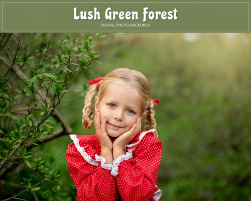 Lush Green Forest Backdrop