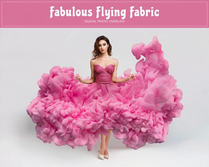 Fabulous Flying Fabric Overlay