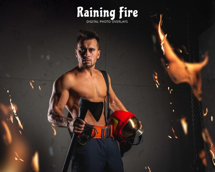 Raining Fire Overlay